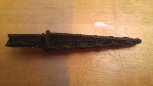 Frisch gedruckt (für sichtbare Teile käme als nächstes Schleifpapier für die Oberfläche zum Einsatz)